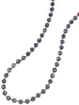 Irene Neuwirth Rose Cut Labradorite Chain Necklace