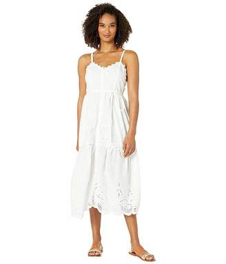 Wrangler Fashion Spaghetti Strap Eyelet Dress