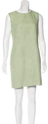 Miss Wu Patterned Mini Dress