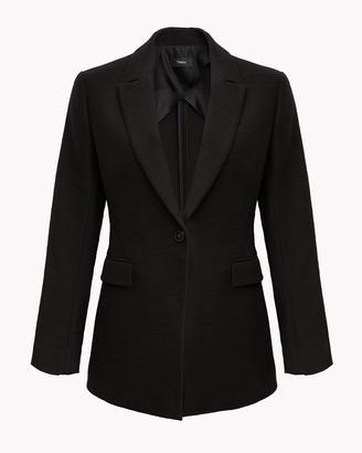 Cotton-Linen Elongated Blazer $495 thestylecure.com