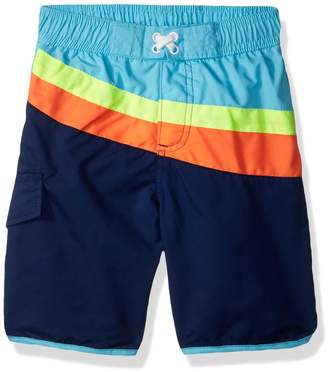 iXtreme Little Boys' Cut and Sew Swim Trunk