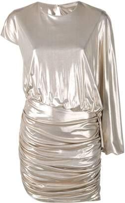 Amen asymmetric mini dress