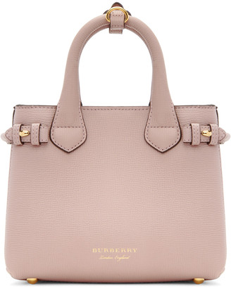 Burberry Pink Mini Banner Tote $1,150 thestylecure.com
