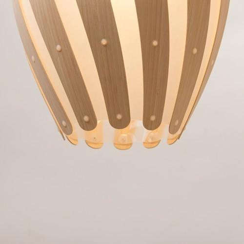 David Trubridge Design Swish Pendant Light