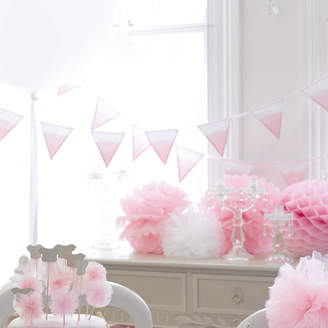 Postbox Party Pink Fabric Bunting