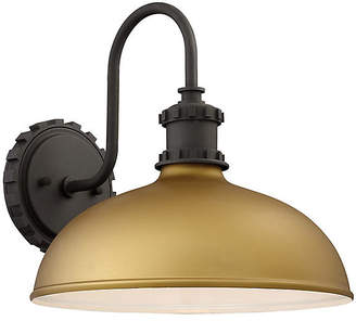 Minka Lavery Escudilla Outdoor Sconce - Honey Gold