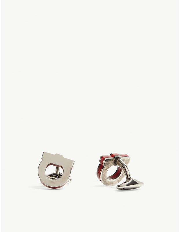 Gancio logo cufflinks