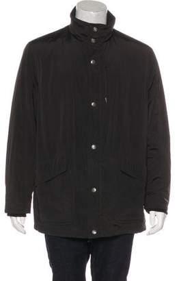 Armani Collezioni Lightweight Mock Neck Jacket