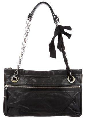 Lanvin Quilted Leather Amalia Shoulder Bag $350 thestylecure.com