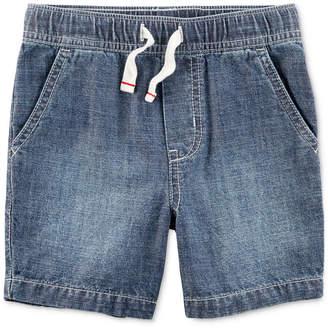 Carter's Chambray Cotton Shorts, Little Boys