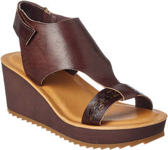 Antelope 519 Leather Wedge Sandal