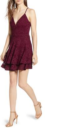 Love, Nickie Lew Lace Skater Dress