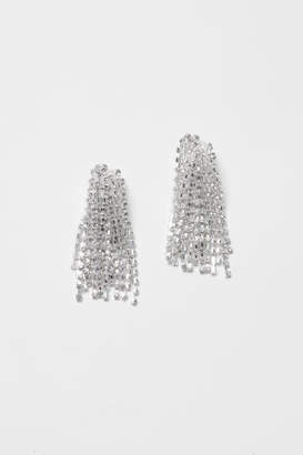H&M Silver-plated Clip Earrings - Silver