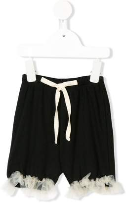 Factory Little Creative Kids embellished shorts