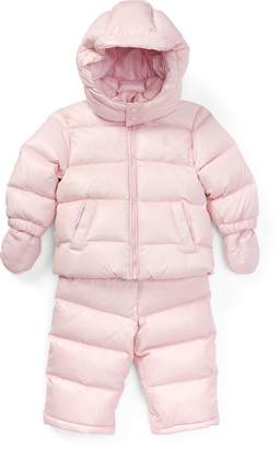 Ralph Lauren Quilted Down Snowsuit