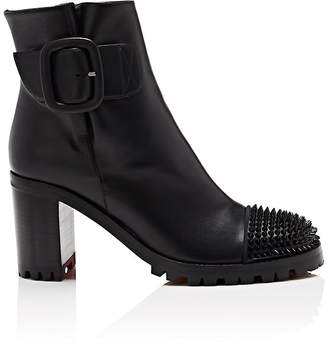 Christian Louboutin Women's Olivia Leather Ankle Boots
