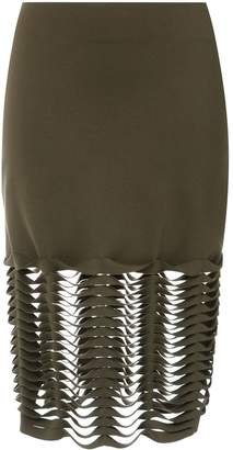 Gloria Coelho cut out skirt