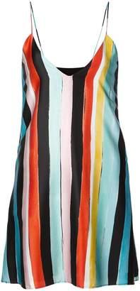 Caroline Constas stripe mini dress
