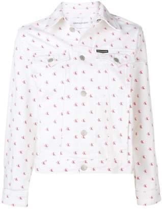 Calvin Klein Jeans monogram denim jacket