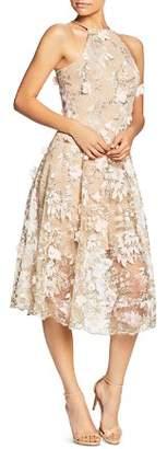 Dress the Population Evelyn Floral Midi Dress