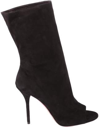Aquazzura Suede Leather Boots
