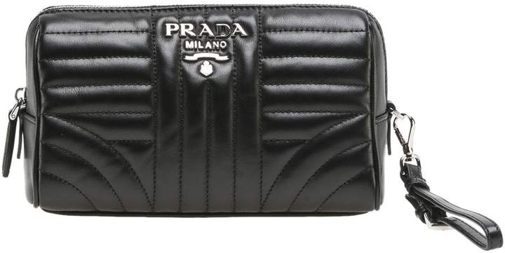 Prada Matelassé Clutch Bag