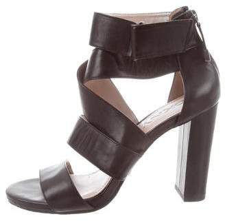 DKNY Leather Multistrap Sandals