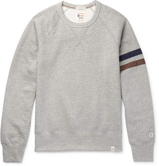Todd Snyder Kingsman - + + Champion Harry's Fleece-Back Cotton-Blend Jersey Sweatshirt