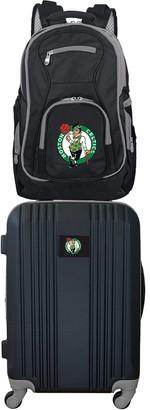 Boston Celtics Wheeled Carry-On Luggage & Backpack Set