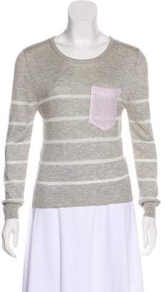 Band Of Outsiders Silk-Blend Knit Top