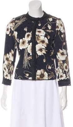 Dolce & Gabbana Floral Prints Blazer