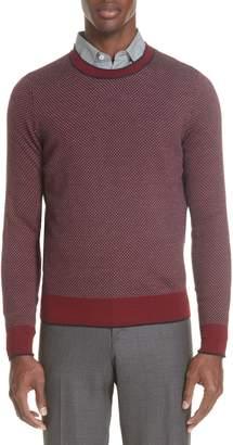 Canali Crewneck Wool Sweater