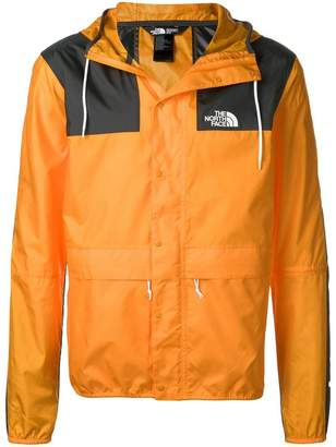 The North Face hooded water-resistant jacket
