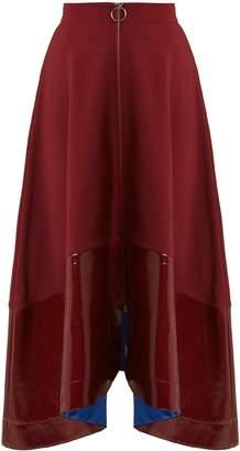 Roksanda Oriana contrast-hem midi skirt