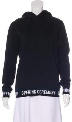 Opening Ceremony Hooded Graphic Sweatshirt