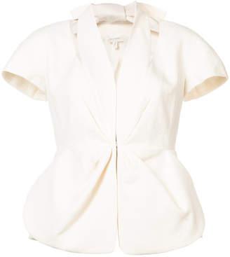 DELPOZO cutout short sleeve blazer