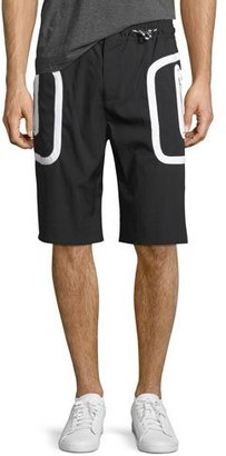 Givenchy Drawstring Athletic Shorts $745 thestylecure.com