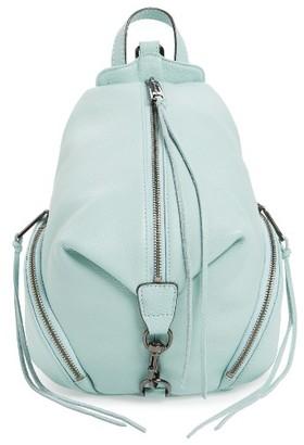Rebecca Minkoff 'Medium Julian' Backpack - Green $245 thestylecure.com