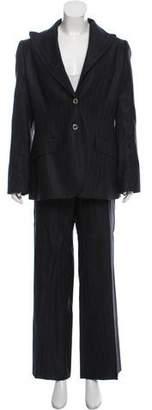 Dolce & Gabbana Wool-Blend Pinstripe Pantsuit