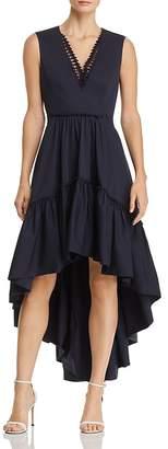 Elie Tahari Sondra High/Low-Hem Dress