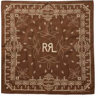 Ralph Lauren Boot-Stitch Cotton Bandanna