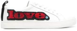 Marc Jacobs Empire crystal-embellished low-top sneakers