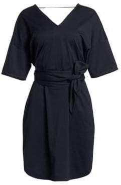 Brunello Cucinelli Jersey Belted Dress