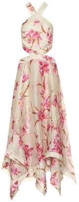 Zimmermann Corsage linen and silk dress
