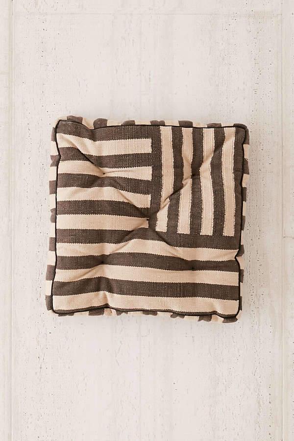 Sunfaded Stripe Floor Pillow