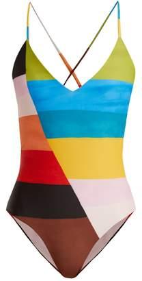 Mara Hoffman Emma V-neck swimsuit