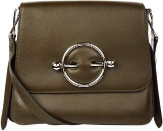 J.W.Anderson Medium Leather disc Cross Body Bag