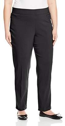 Briggs Women's Plus Size Super Stretch Millennium Welt Pocket Pull on Career Pant