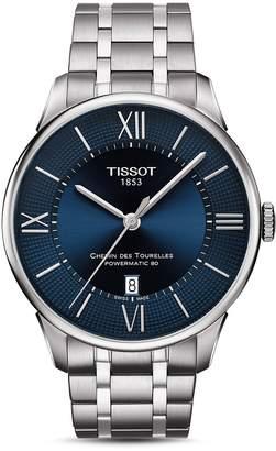 Tissot Chemin Des Tourelles Watch, 42mm