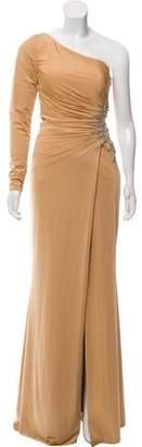 Jovani One-Shoulder Embellished Dress